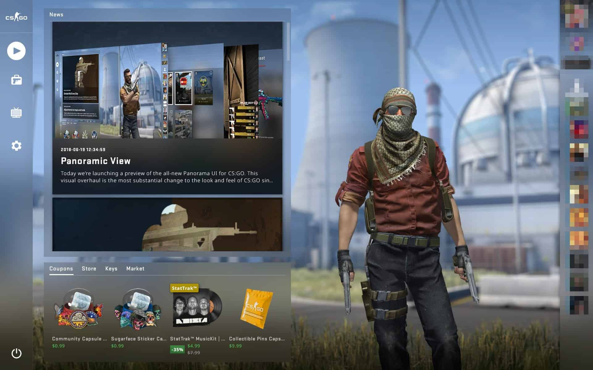 Cs:go's panorama ui update goes live for everyone mspoweruser.