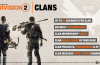 Division 2 – *NEW CONTENT* CLANS !